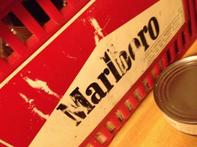 And beneath it was the Marlboro shopping basket who inadvertently walked home with once years ago when who was a regular customer [thnk/] of whose IMG_0105