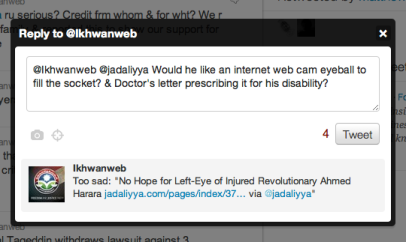 Left eye tweet Screen Shot 2011-12-25 at 8.07.56 PM