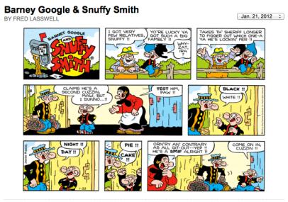 Screen Shot 2012-01-22 at 1.59.14 AM - I've got very few relatives, Snuffy