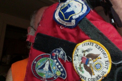 'Big Wig's Service K-9 vest with patches; xref: Sally Ride - Take 2 on big wig's vest - Photo on 7-23-12 at 4.19 PM