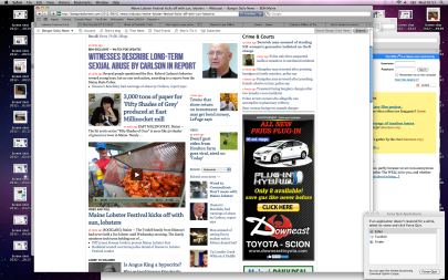 Page layout as found; xref: who was once told who turns red as a lobster when who gets aroused - Screen shot 2012-08-01 at 05.51.30